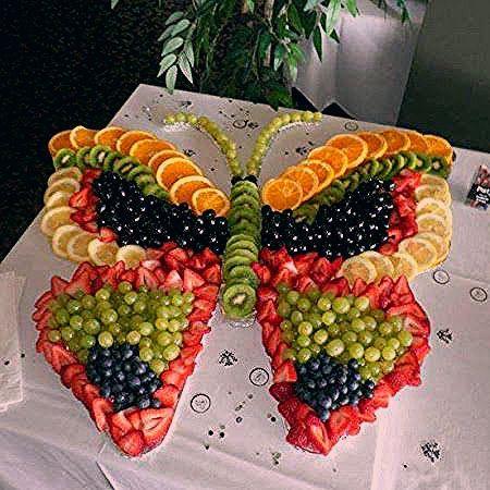 Photo of Fruchtiger Schmetterling – so süß für die Geburtstagsfeier eines Mädchens!