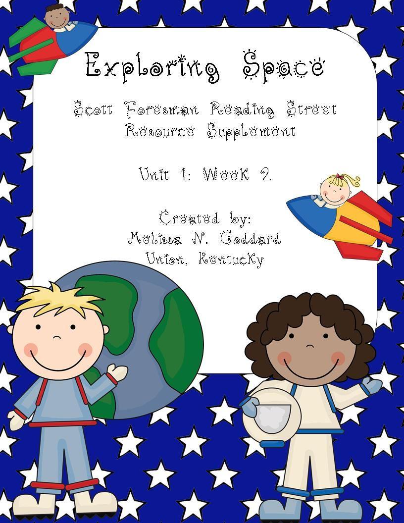 Exploring Space Reading Street Scott Foresman Second Grade Reading Street First Grade Reading 2nd Grade Reading [ 1056 x 816 Pixel ]