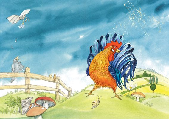 Sternenstaub   Autore: Nancy Walker-Guye  Illustrazioni: Alessandra Micheletti  Aracari Verlag  CH  Anno: 2011  -  Ink and Watercolor
