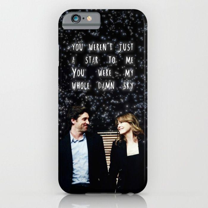 My Whole Sky iPhone & iPod Case | Grey\'s Anatomy | Pinterest | iPod ...