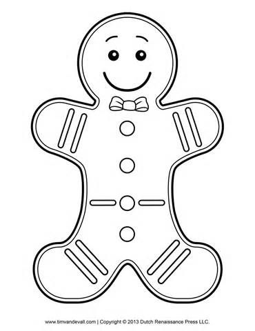 Ginger Bread Men Colouring Pages Gingerbread Man Coloring Page Christmas Coloring Pages Gingerbread Man Template