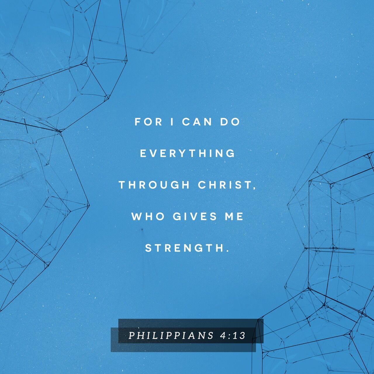 Philippians 4 13 Niv Amplified Bible Scripture Verses Bible