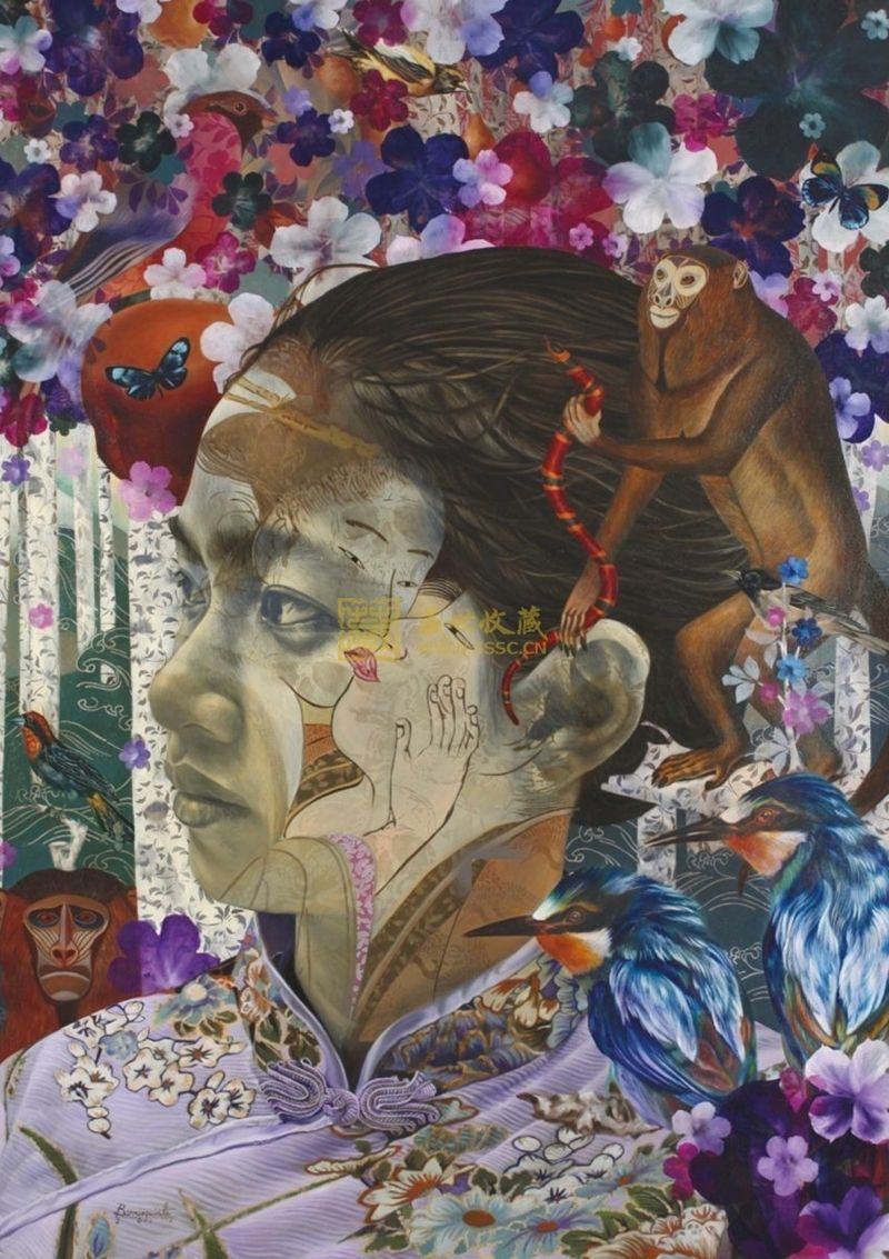 Andres Barrioquinto, 1975 Surrealist painter Filipino