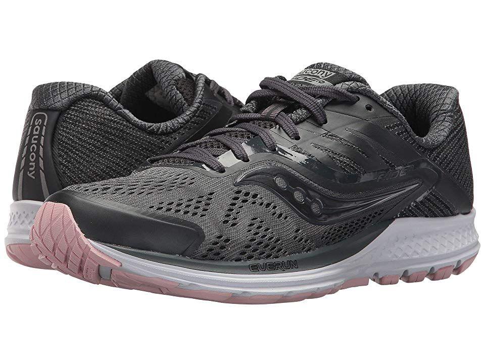 deb9604d Saucony Ride 10 Women's Running Shoes Gunmetal/Pink in 2019 ...