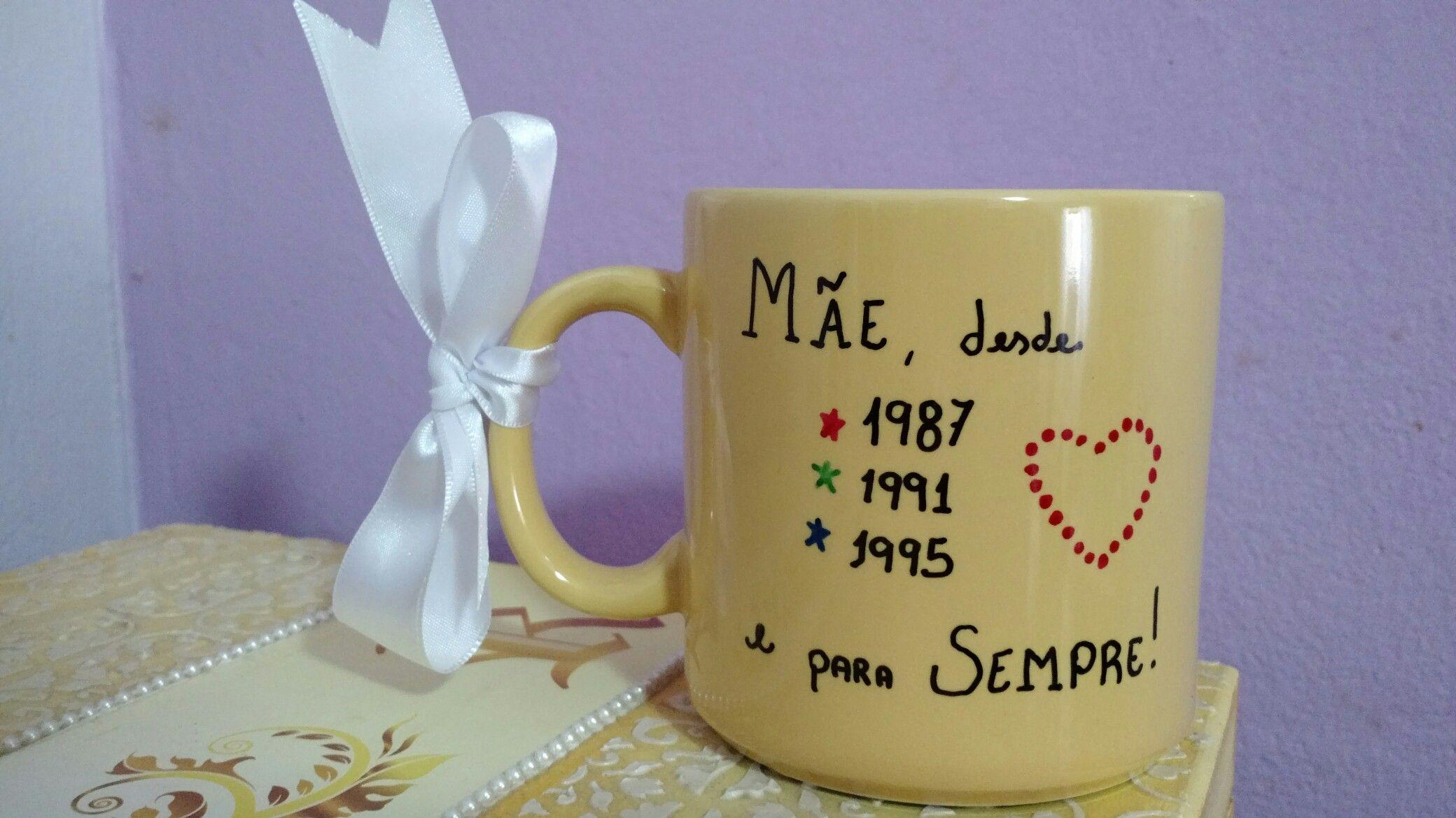 Presente mãe// dia das mães // mother's day // caneca mãe // mug