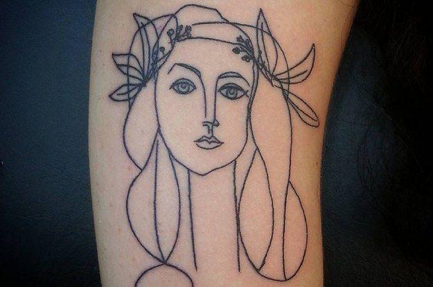 21 tatuagens de Picasso que vão fazer todo mundo se apaixonar