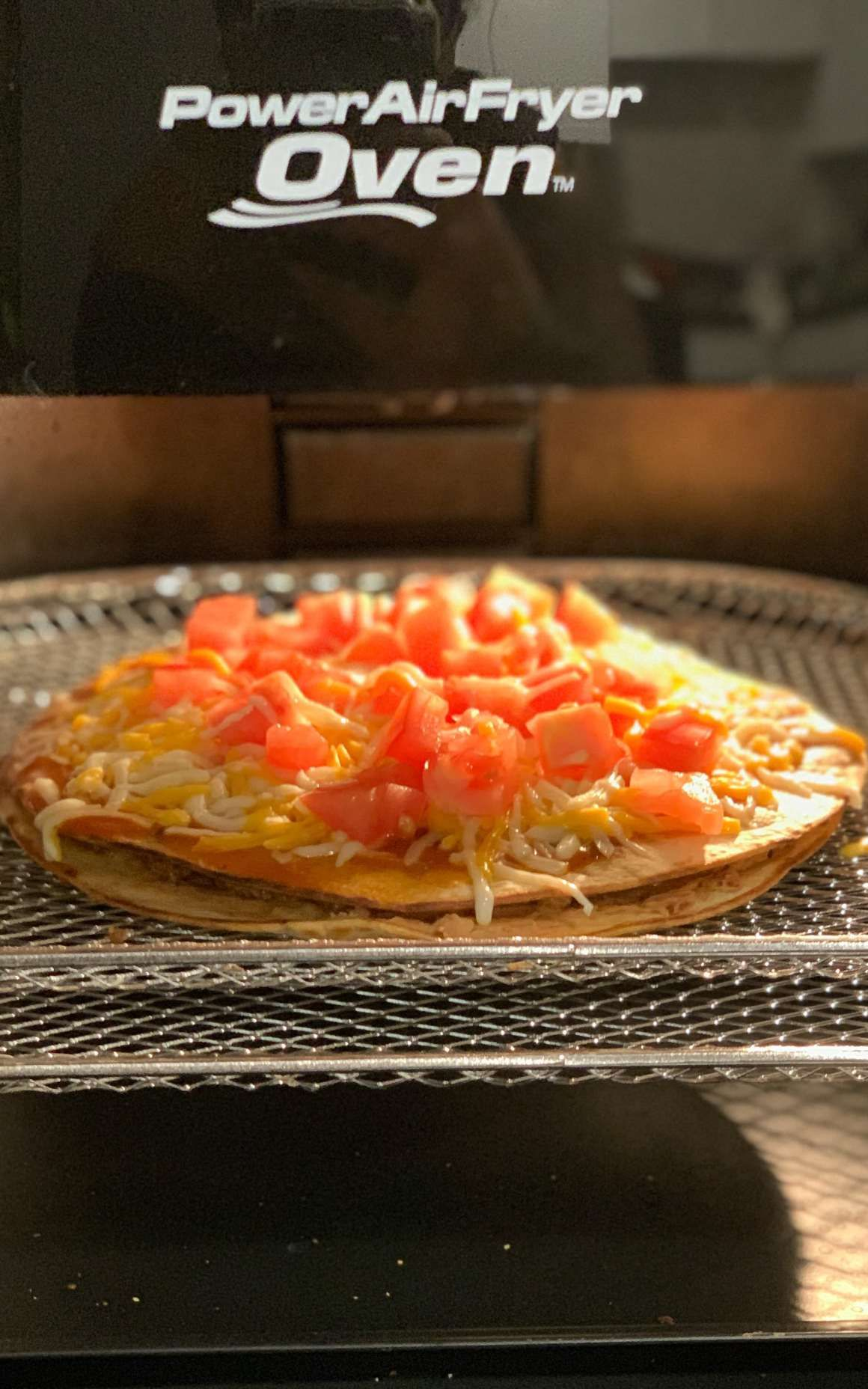 How To Make Mexican Pizza In The Air Fryer Recipe