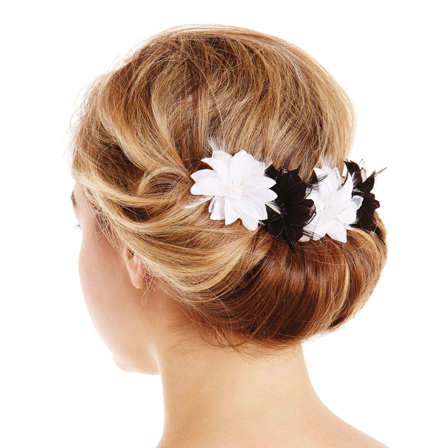 Create a classic hair up look with this easy to use
