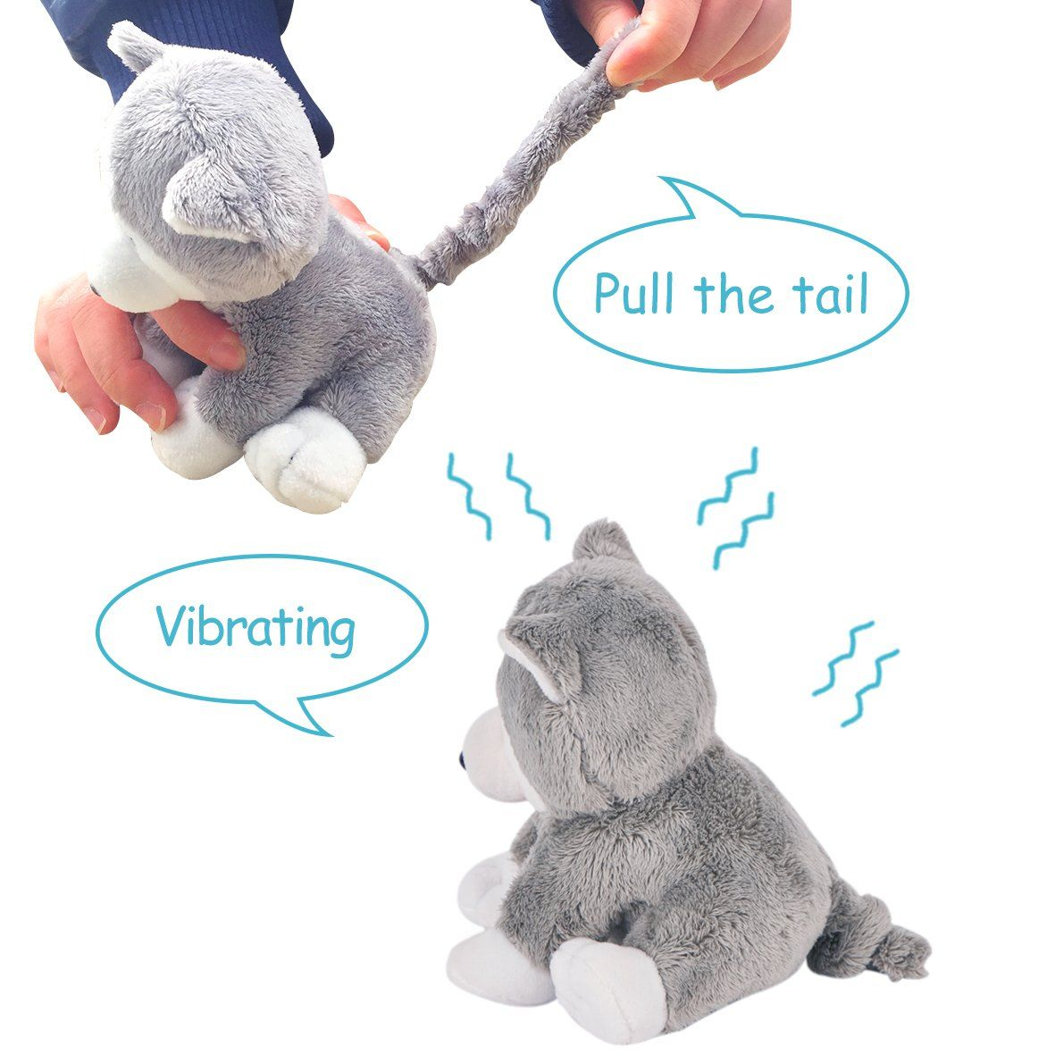 Stuffed Dog Vibrating Plush Soft Toys Sasa To View Further For