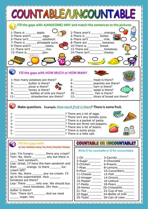 worksheets grade 5, english practice, exercises pdf, 4th grade worksheets, exercises intermediate, worksheet for kids, worksheets for grade 1, cake chicken, on teaching countable and uncountable nouns games