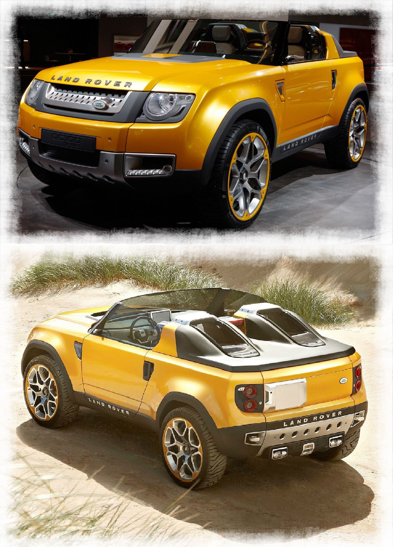 Wet land crossing 2017 land rover dc 100 hybrid sport concept http