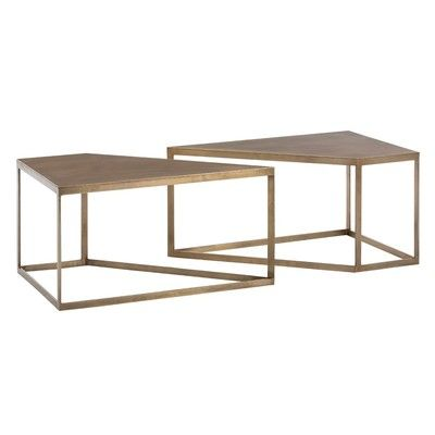 Best Arteriors Austin Cocktail Tables Set Of 2 Cool Coffee 640 x 480