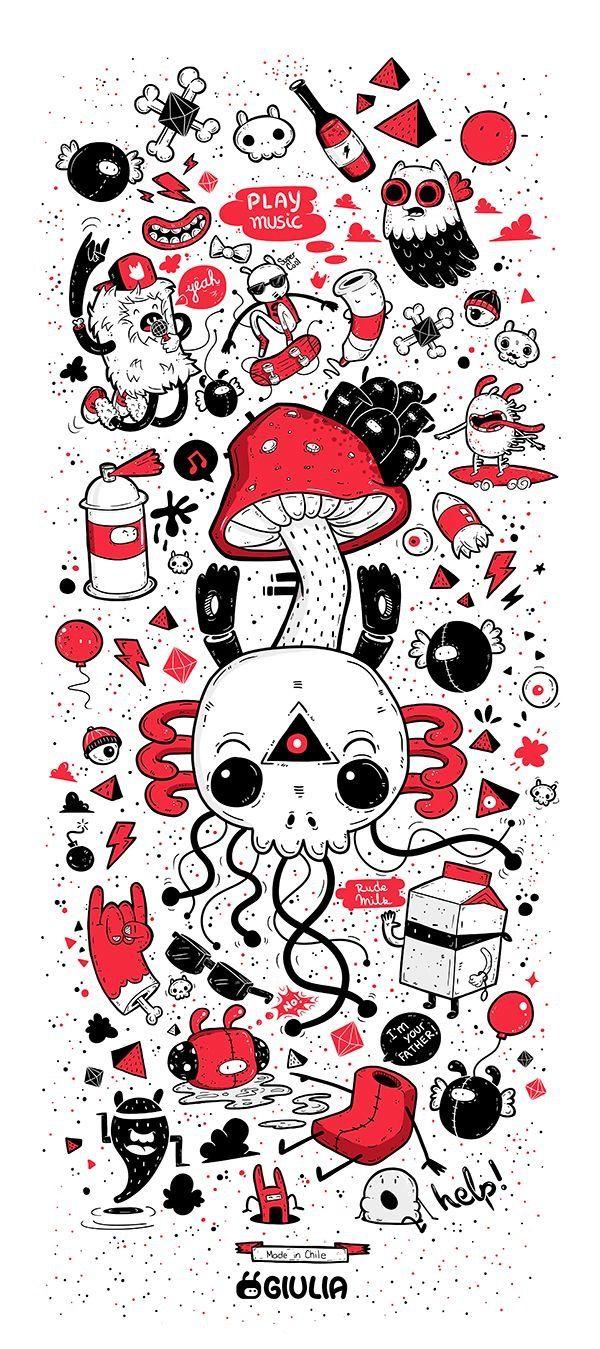 Pin De David Cardozo En Daz Ilustraciones Diseno Grafico Digital Calaveras