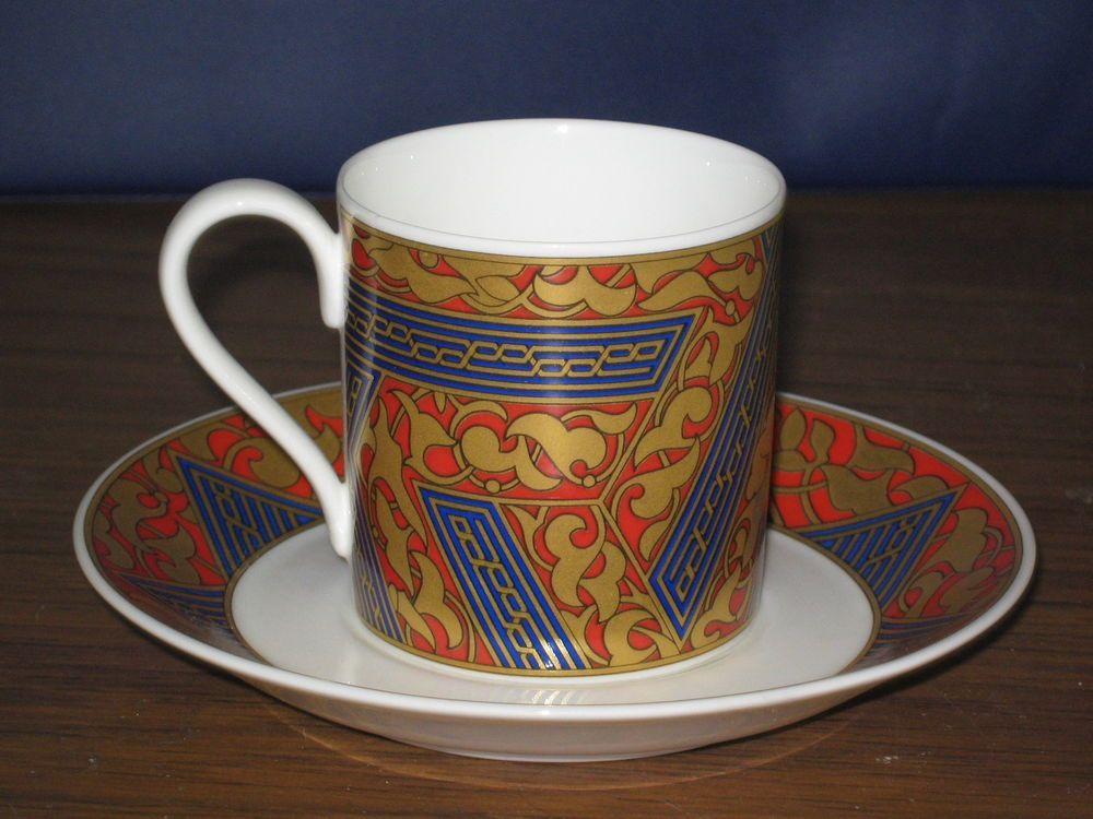 Villeroy Boch Bone China Ornamentic Byzance Cup Saucer Heinrich