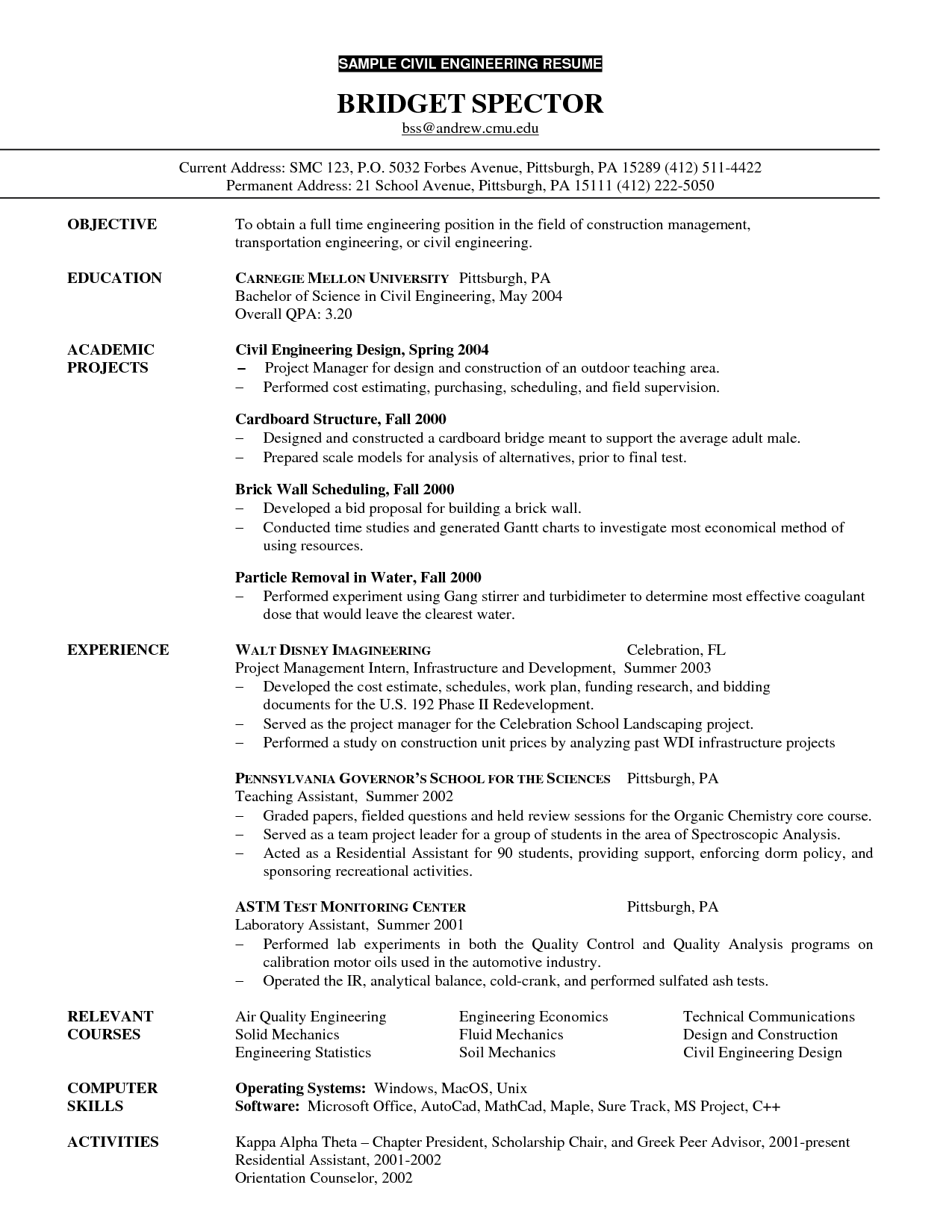 Good Resume Objective Example Good Resume Objective Norcrosshistorycenter Job Examples