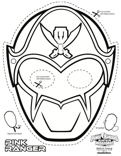 power ranger mask printable - Google Search | Power rangers ...