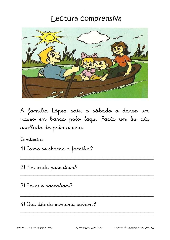 Lecturas comprensivas 13 16 galego by nomenterodelapataca via ...