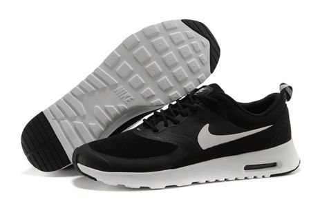 promo code release info on new products Nike Air Max Thea Black White Running Shoes | shoes | Nike ...