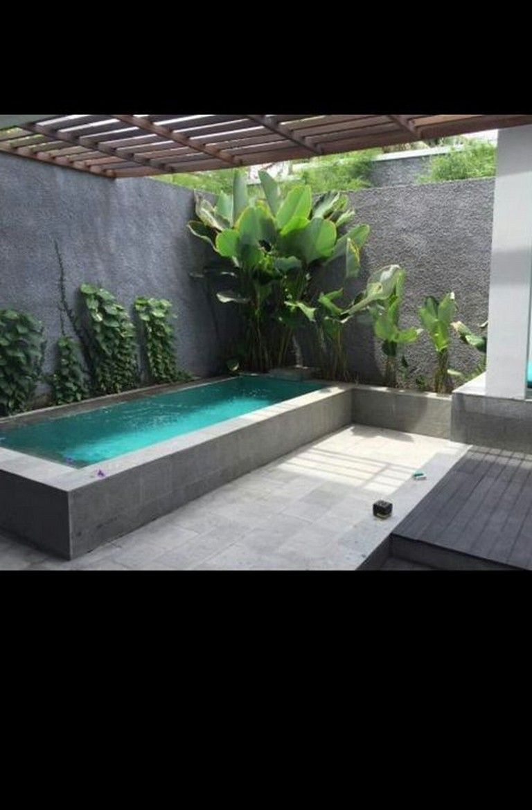 36 Beautiful Mini Pool Garden Designs For Tiny House Small