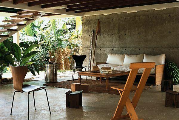 Moderne Terrassengestaltung U2013 100 Bilder Und Kreative Einfälle   Moderne  Tropische Terrasse Gestalten Terrassenmöbel