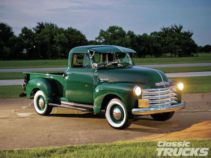 1951 Chevrolet 3100 Pickup Retro Wallpaper 1600x1200 484066