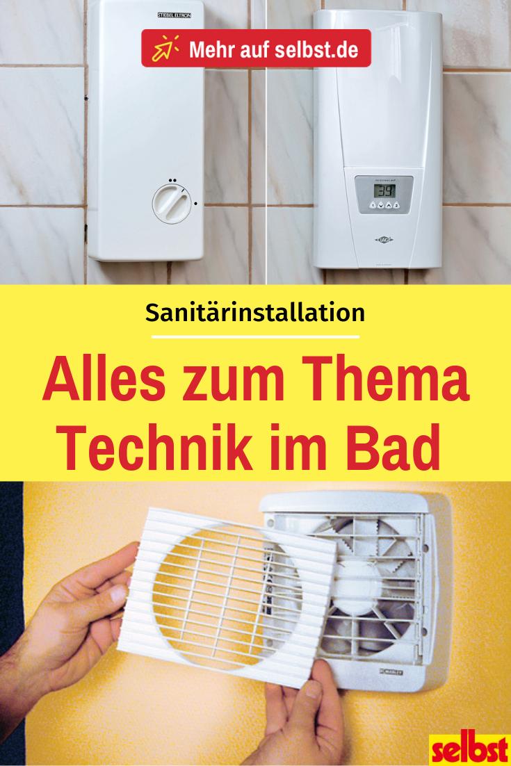 Sanitärinstallation Kleines bad einrichten, Bad sanieren