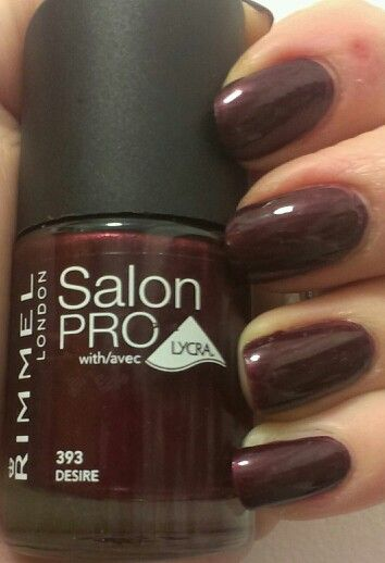 Rimmel London Salon Pro: Desire
