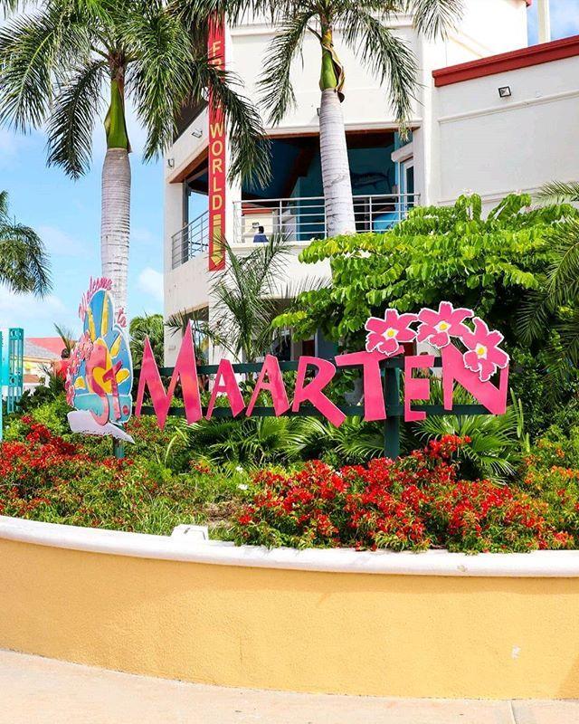 Richtig geraten Das letzte Foto ist auf St. Maarten
