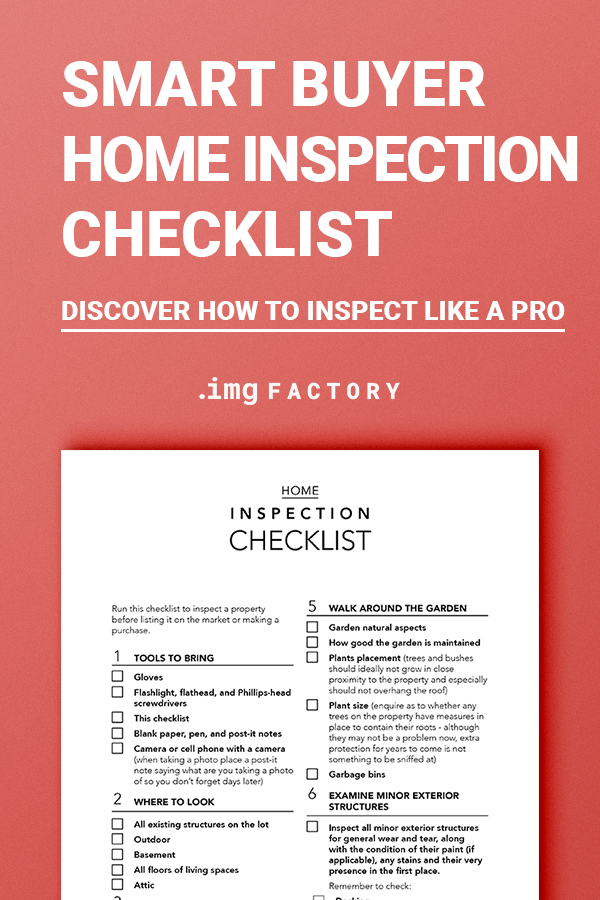Ultimate Home Inspection Checklist Real Estate Home Buyer Etsy Inspection Checklist Home Buying Tips Buying First Home