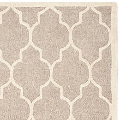 Safavieh Cambridge Collection CAM134J Handmade Beige and Ivory Wool Area Rug, 8 feet by 10 feet (8′ x 10′) #handmade Safavieh Cambridge Collection CAM134J Handmade Beige and Ivory Wool Area Rug, 8 feet by 10 feet (8' x 10') The Safavieh Cambridge Collection is the perfect blend of class and elegance. These rugs bring traditional sophistication to your home. These rugs feature 100% Premium Wool, hand tufted into elegant designs, perfect for your traditional décor. The varying pile hei..