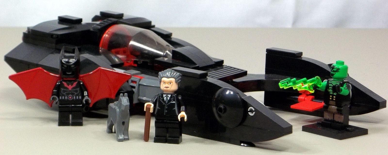 custom lego batman beyond batmobile custom lego lego batman and batmobile. Black Bedroom Furniture Sets. Home Design Ideas
