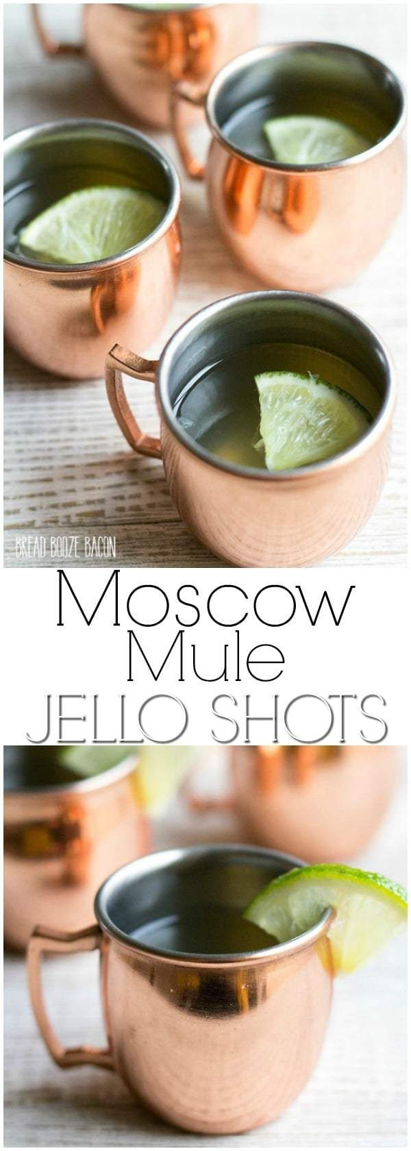 Moscow Mule Jello Shots