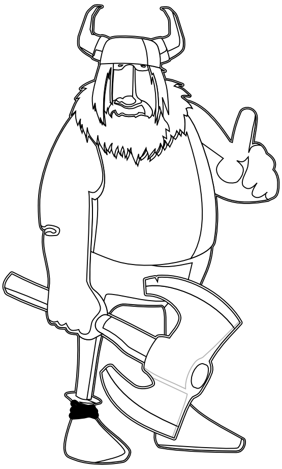 Viking School Viking Pictures Vikings Coloring Pages