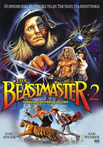 Beastmaster 2 Through The Portal Of Time Dvd Marc Singer Http Www Amazon Com Dp B00b43o5da Ref Cm Sw R Pi Old Movie Poster Barbarian Movie Movie Posters