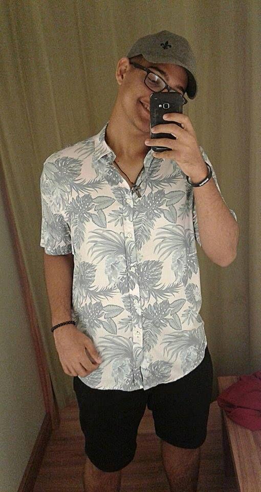 d04dce281 camisa estampada florida masculina.