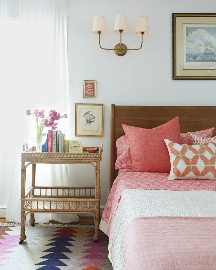 77 deko ideen schlafzimmer f r einen harmonischen und einzigartigen schlafbereich dekoration. Black Bedroom Furniture Sets. Home Design Ideas