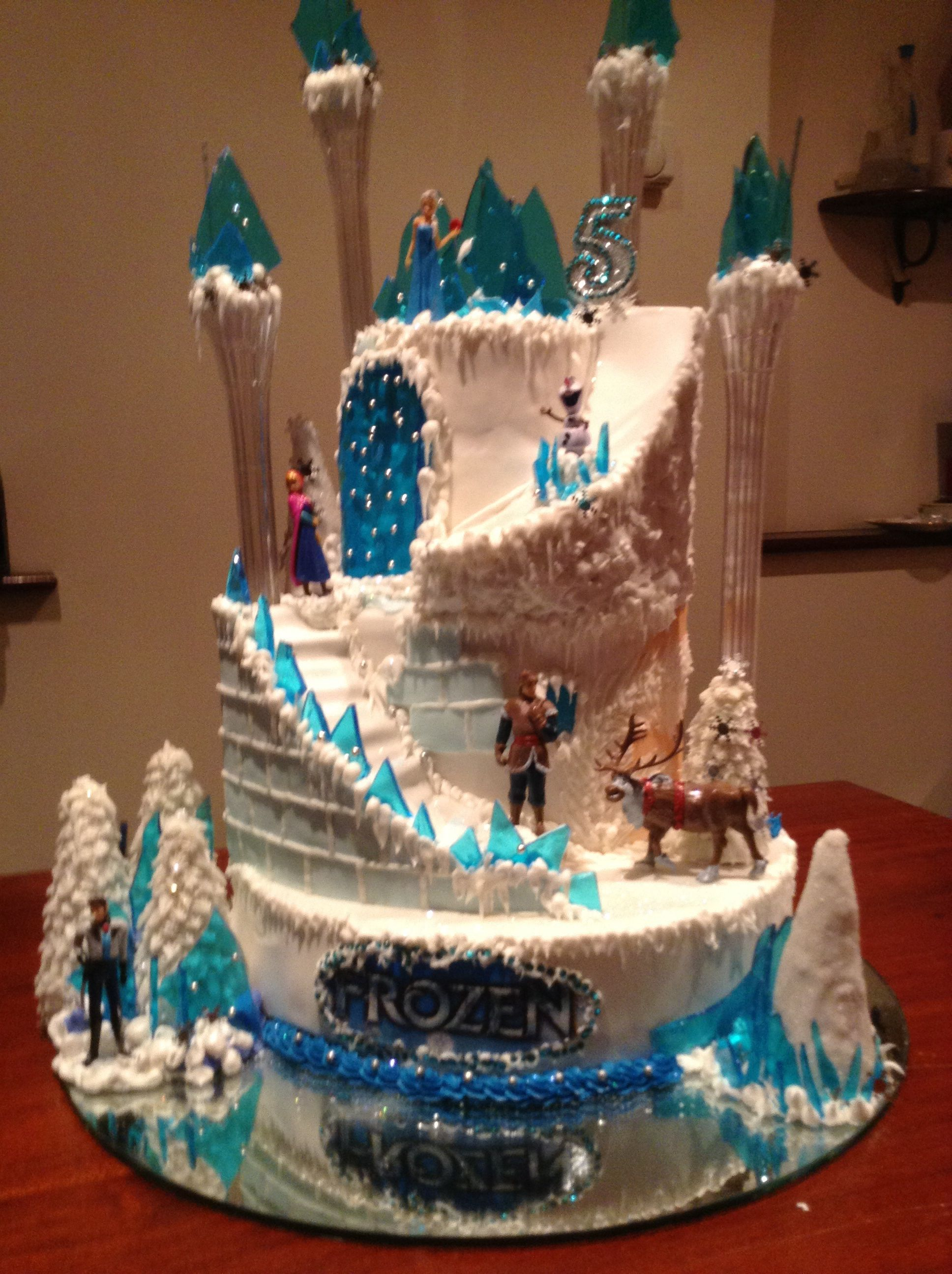 Frozen Cake Frozen Birthday Cake Frozen Birthday Party