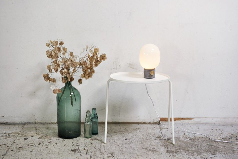 Honest Materials U2013 Concrete And Brass U2013 Are Transformed Into A Lamp Of  Beauty By Stockholm Based Designer Jonas Wagnell. Inspired By Traditional  Oil Lamps,