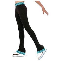 #ChloeNoel                #ApparelBottoms           #ChloeNoel #Turquoise #Black #Skating #Pants #Girls #Small                    ChloeNoel Turquoise Dot Black Ice Skating Pants Girls Small                                             http://www.seapai.com/product.aspx?PID=7298523