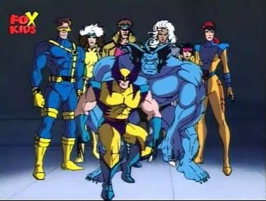 Classic X Men Cosplay Various Characters At Least Rogue Jean Grey Logan And Storm 90s Cartoon Cartoon Animation