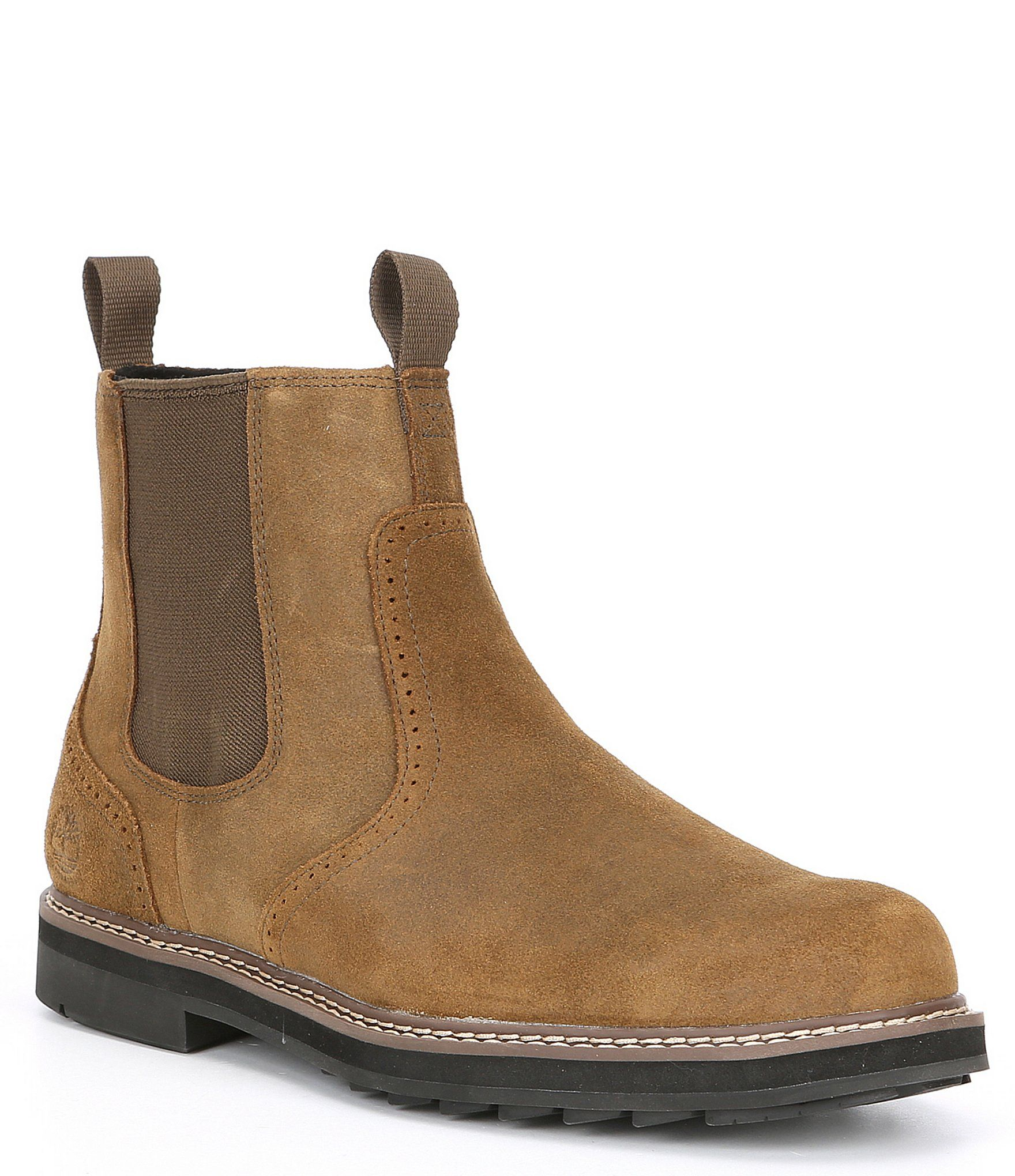 Timberland Men's Squall Canyon Waterproof Leather Side Zip