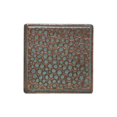 Decorative Accent Tile Awesome Daltile Castle Metals 2 Inx 2 Inaged Copper Metal Insert B Decorating Inspiration