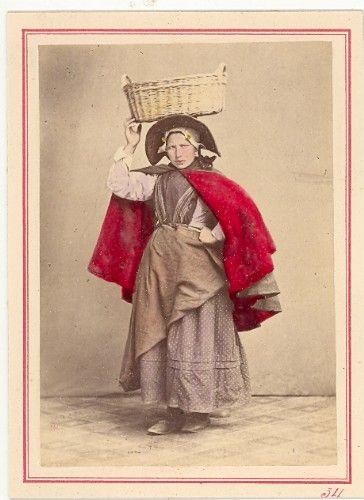 Zelande Fisherwoman Fashion Netherlands 1890