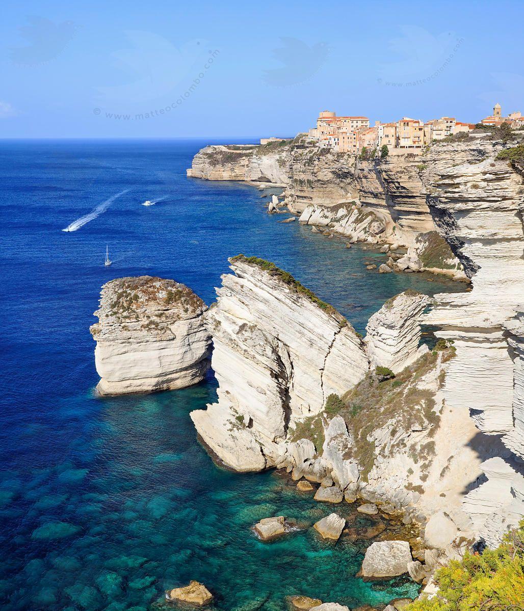 Bonifacio on the cliffs, Corsica, France By Matteo Colombo