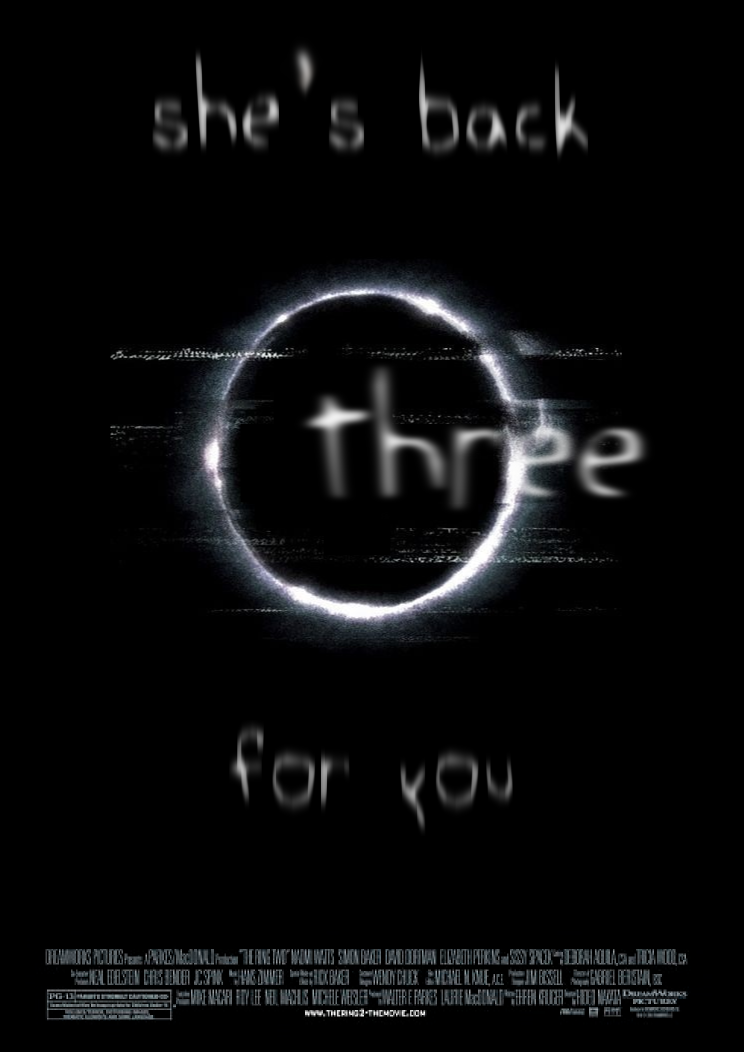 """Upcoming horror movie """"The Ring 3"""" is in development.  No official plot yet, but it's said that the producers hope to """"re-invent"""" the series and possibly make it more teen friendly than the previous installments.  #horrormovies #scarymovies #horror #upcominghorrormovies #ilovehorrormovies"""