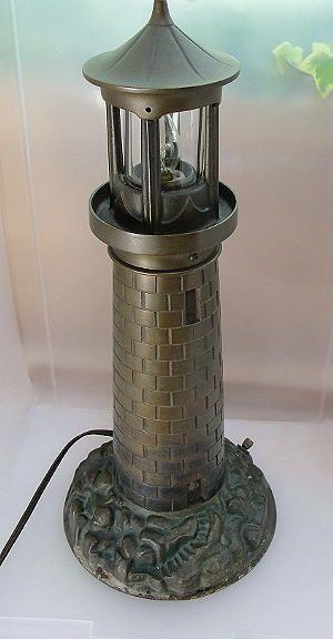 Maritime Vintage Bronze Lighthouse Lamp The Latest Fashion