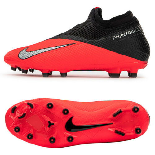 Nike Phantom Vsn 2 Academy Df Fg Mg Football Shoes Soccer Cleats Red Cd4156 606 In 2020 Football Shoes Soccer Cleats Soccer Cleats Nike