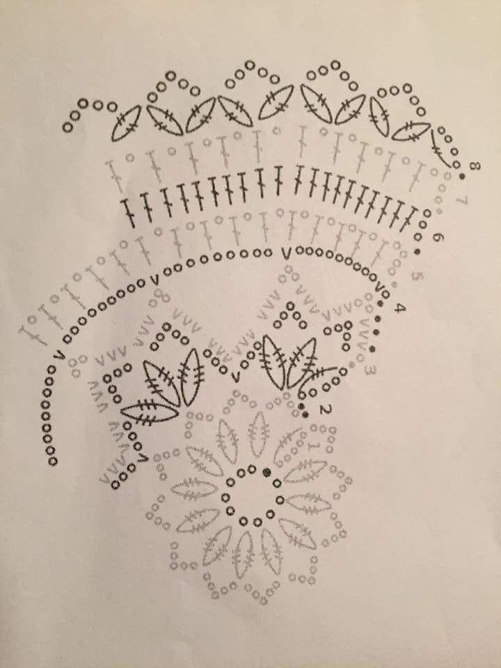 Valopallo, toinen malli   szalik   Pinterest   Patrones de crochet ...