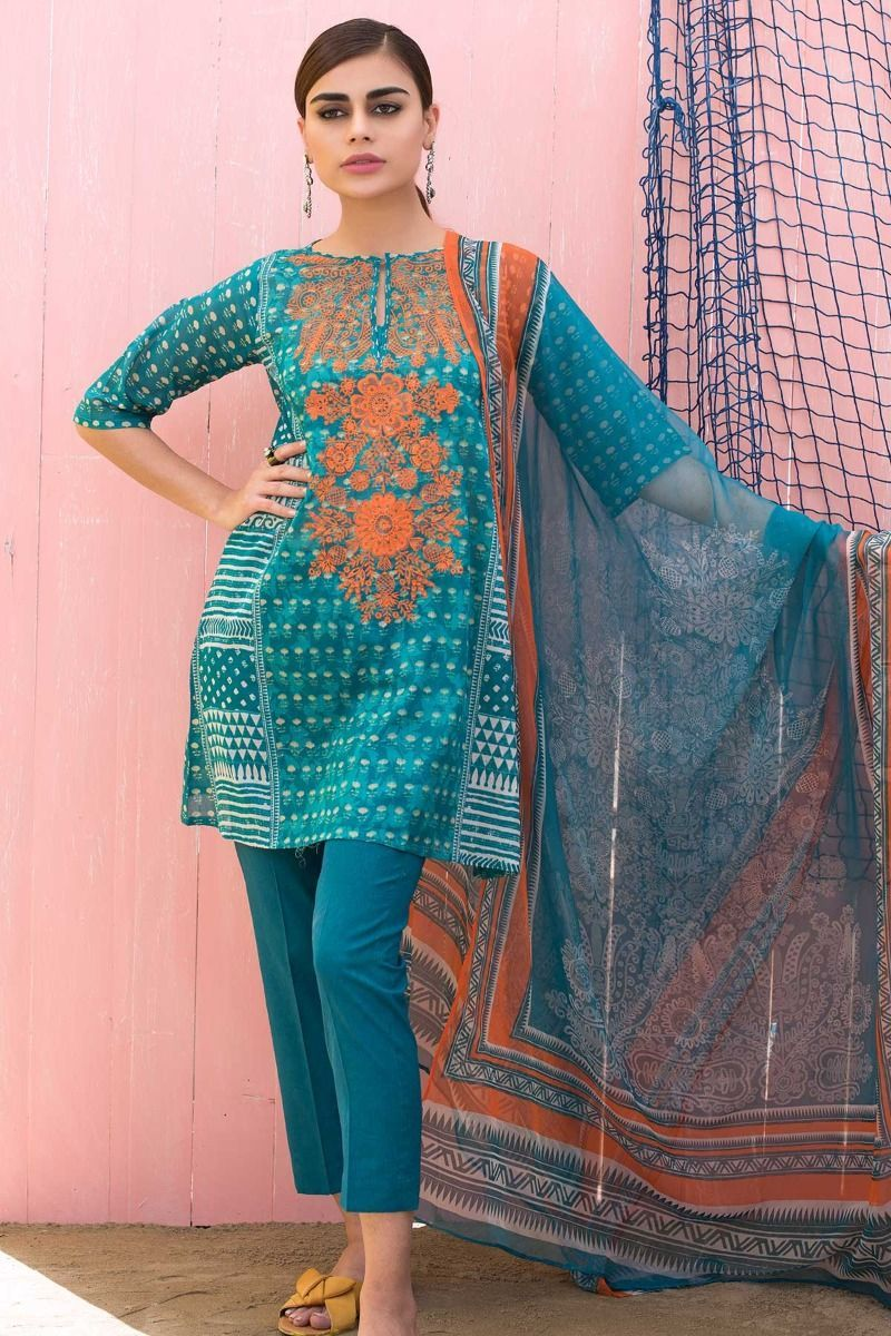 a4c7a484cc #TropicalEscape #Khaadi #Lawn Collection 2018 #khaadi2018 #khaadilawn  #pakistanicloth #designerlawn #lawndress #pakistanifashion