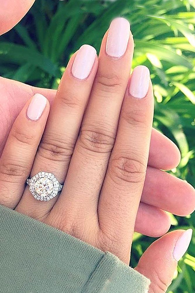 24 vintage engagement rings with stunning details - Huge Wedding Rings